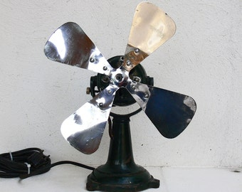 Frigid Art Deco electric ventilator type IV X2 (?) Made in Belgium ca. 1930