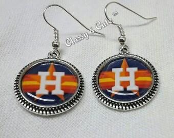 Houston Astros Earrings