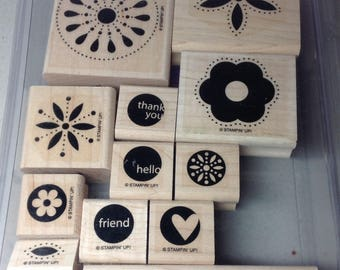 Stampin' Up! Retired Stamp Set - In The Spotlight (12)