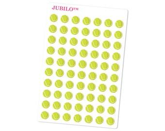Planner Stickers - Tennis Balls - Tennis Stickers