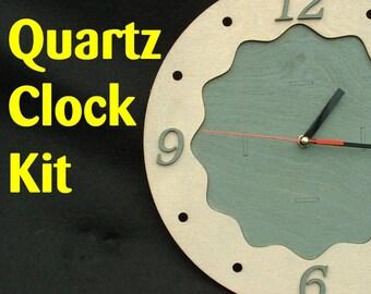 DIY Quartz Clock Kit - Paint to match any room!
