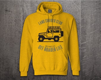 Toyota Land Cruiser hoodie, Cars hoodies, Toyota hoodies, Truck hoodie, SUV hoodies, Off Roader hoodies Land Cruiser t shirts Unisex Hoodies