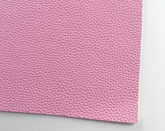 Pale Lilac Textured Faux Leather