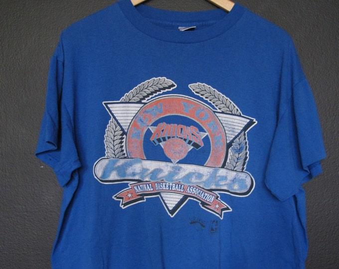 New York Knicks NBA 1980s vintage Tshirt