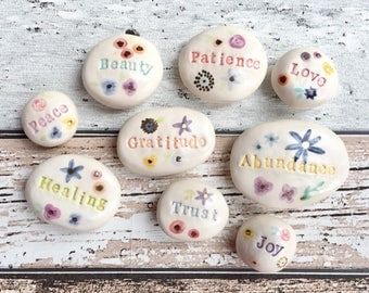 Ceramic Palm Pebbles