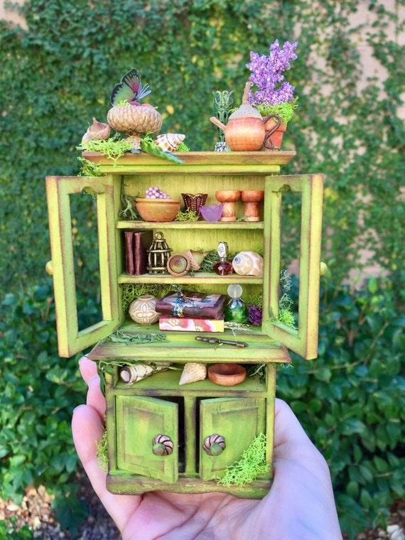 Fairy Hutch Fairy Garden Furniture Dollhouse Miniature