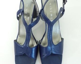 blue heels – Etsy