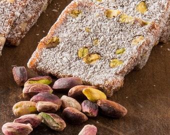 Coconut & Pistachio Turkish Delight / CEZERYE (500 grams)