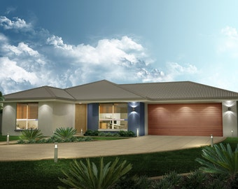 227 m2 | 4 Bedroom | 2 Bathroom Family | Home Plans |  4 Bedroom  design |  4 bed floor plans | 4 bed blueprints | 4 bed plus 2 bath plans