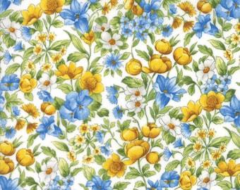 Moda Summer Breeze IV Quilt Fabric 1/2 Yard By Sentimental Studios Ivory 33283 11