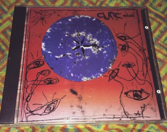 The Cure cd Wish album