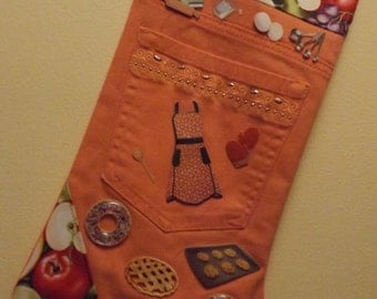 Unique repurposed bakers stocking