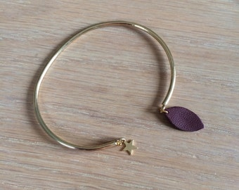 Bracelet Flowers (gold)