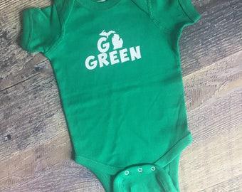 Onesie, michigan state, go green
