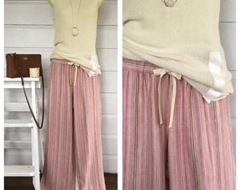 Wide Linen Pants