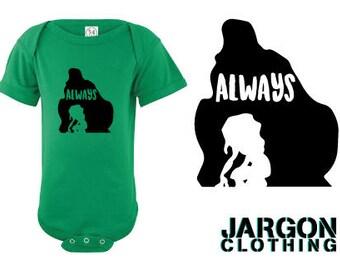 Always. Tarzan