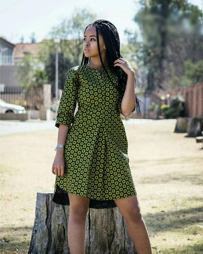 African print top shirt dress ankara ankara dress african for Shirt styles for ladies
