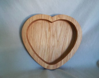 Oak Heart Dish Handmade