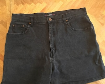 Vintage bill blass black shorts