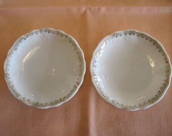 Pair of Butter Pats - Item #1484