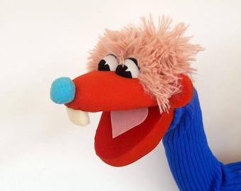 Danny Foam Puppet - Hand puppet Hand made