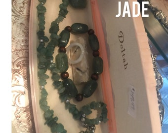 Jade Jewelry Set