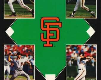 San Francisco Giants Collage  1993  Poster