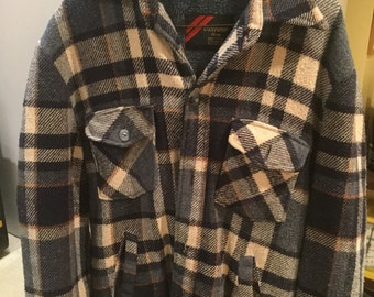 Medium Vintage Sears Flannel Outerware
