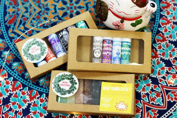 Sale Natural Body Care Gift Sets: Aromatherapy Inhalers, Chapstick Samplers and Soap Samplers