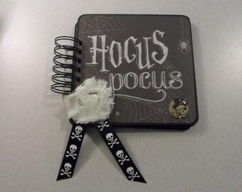 Hocus Pockus Halloween Spiral Mini Album