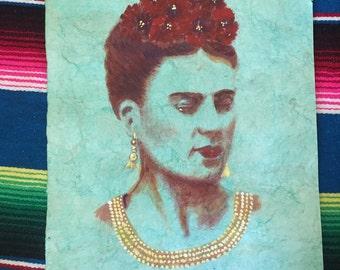 Frida paper Amate