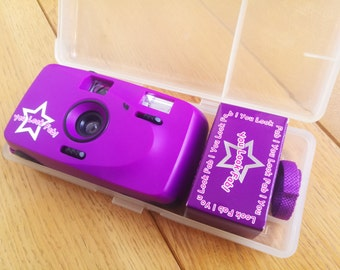 NEW Plastic fantastic Holga Diana Toy style 35mm film camera - You Look FAB! + Lomography Chapbook