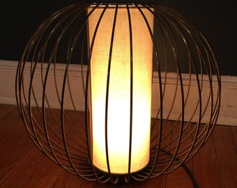 Vintage Cage Table Lamp