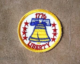 Vintage Bicentennial Liberty Bell Patch