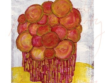 OTHERS IN SUMMER (2) - Giclée Print of Illustration (Acrylic) - 8x10 inches - Fine Art