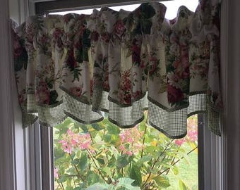 Gingham Curtains Etsy