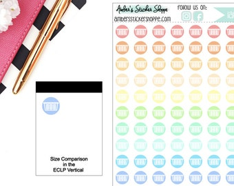 Pastel Laundry Basket Dirty Laundry Laundry Dot Planner Stickers