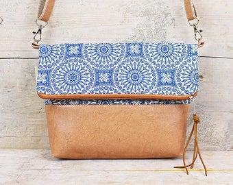 "Foldover Bag ""Mandala"""
