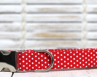 Red With White Polka Dot - Spring 2017