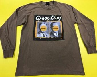 Vintage Long Sleeve Green Day Nimrod 90s Tour Large shirt