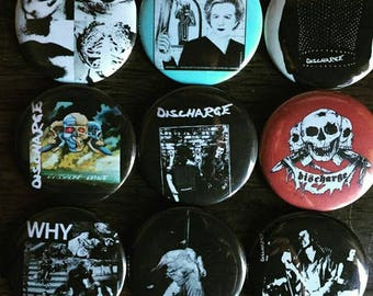 Discharge Button Set