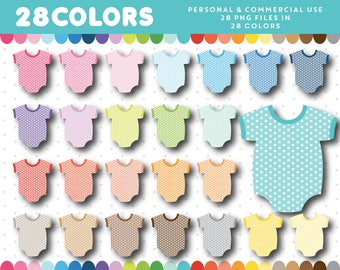 Baby clothes clipart, Baby clipart, Baby fashion clipart, Newborn clipart, Baby shower clipart, Babies clipart, New baby clipart, CL-1227