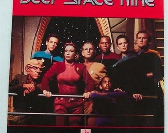 STAR TREK Deep Space Nine Counter Display Large Rare And Hard To Find Retail Store Display 1993 Sci-Fi