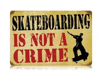 Skateboarding Crime