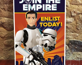 Custom Portrait Star Wars Propaganda Poster