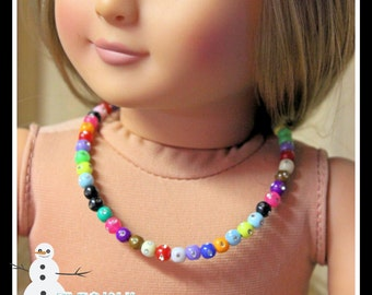 Necklace to fit American Girl (AG) or other 18 inch dolls