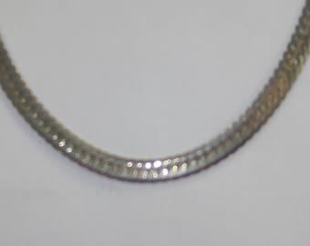 D- 61 Vintage Necklace choker 14 k gold GP