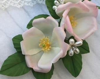 Large Floral crown - Floral Crown - Bridal Floral Crown - Lateral Floral Crown - Large Hair Crown - Floral Hair Crown - Wild Flowers Crown