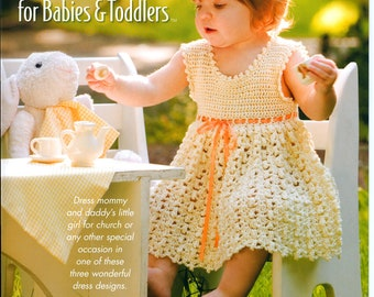 Pdf file Dress for todler Crochet dress for baby Dress for summer