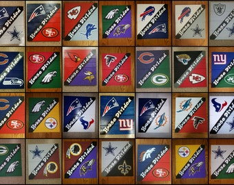 House Divided (Professional) Select Your Teams Sign